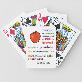 In Praise of Teachers Card Deck
