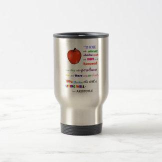In Praise of Teachers Travel Mug