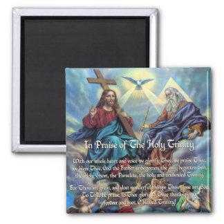 In Praise of the Trinity Custom Magnet