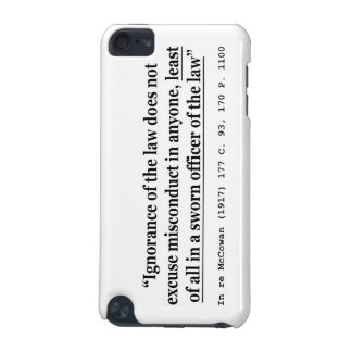 In re McCowan (1917) 177 C 93 170 P 1100 Case Law iPod Touch (5th Generation) Covers