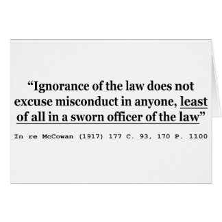 In re McCowan (1917) 177 C 93 170 P 1100 Case Law Greeting Cards