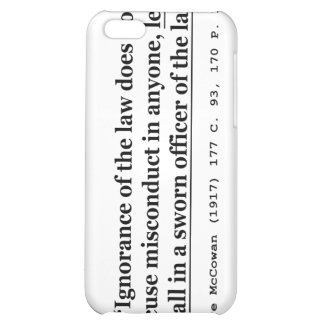 In re McCowan (1917) 177 C 93 170 P 1100 Case Law iPhone 5C Cases