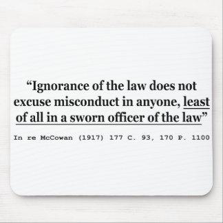 In re McCowan (1917) 177 C 93 170 P 1100 Case Law Mouse Pad