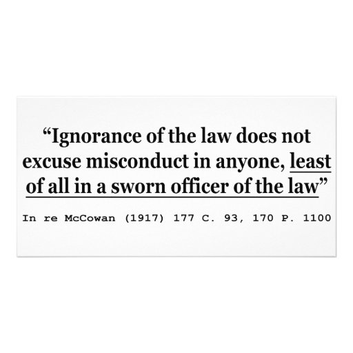 In re McCowan (1917) 177 C 93 170 P 1100 Case Law Photo Card Template