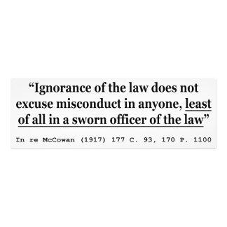 In re McCowan (1917) 177 C 93 170 P 1100 Case Law Photo Print