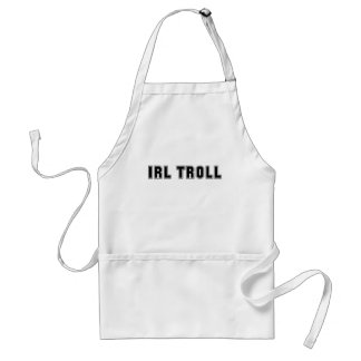 In Real Life IRL Troll Internet Meme Adult Apron