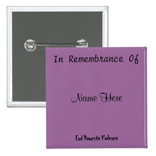 In Remembrance Of Pin