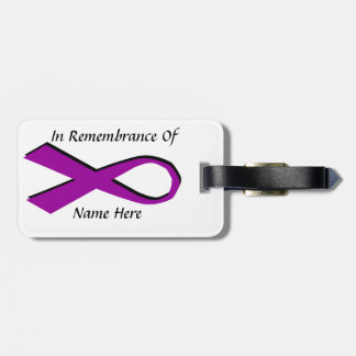 In Remembrance Of Bag Tag
