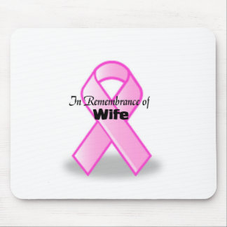 In Remembrance of wife Mouse Pads