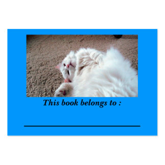 In Repose 2 Book Plate Large Business Card