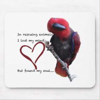 In rescue, I lost my mind, but found my soul. Mouse Pad