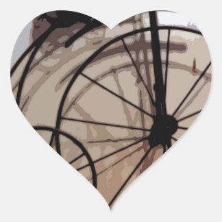 In Retrospect Heart Sticker