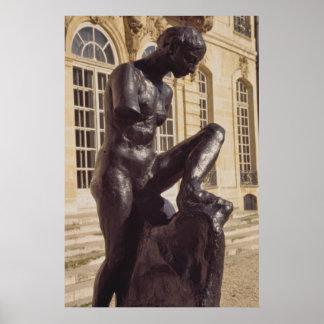 In Rodin's Garden, Paris, France Poster