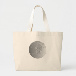 In Ron Paul We Trust Liberty Coin 2012 Large Tote Bag