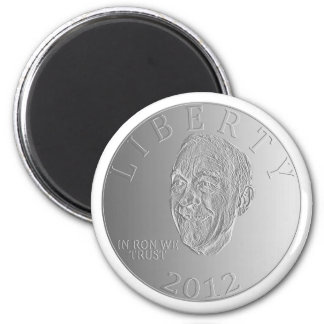 In Ron Paul We Trust Liberty Coin 2012 Fridge Magnets