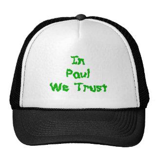 In Ron Paul We Trust Trucker Hat