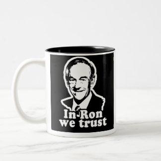 In Ron we Trust Coffee/Tea Mug