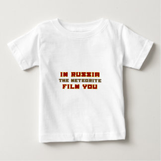 In Russia the Meteorite Film You Baby T-Shirt