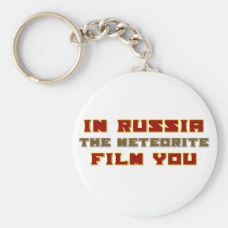 In Russia the Meteorite Film You Keychain