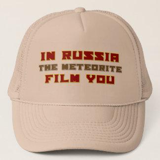 In Russia the Meteorite Film You Trucker Hat