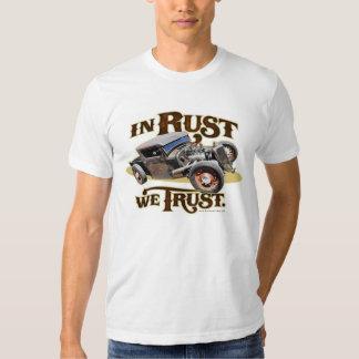 In Rust We Trust Tee Shirt