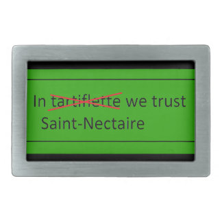 In Saint-Nectaire cheese we trust