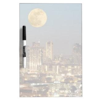 In San Francisco Dry-Erase Board