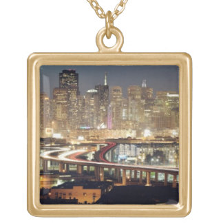 In San Francisco Gold Plated Necklace