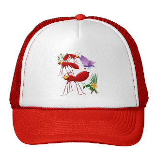 In Search for A Picnic Trucker Hat