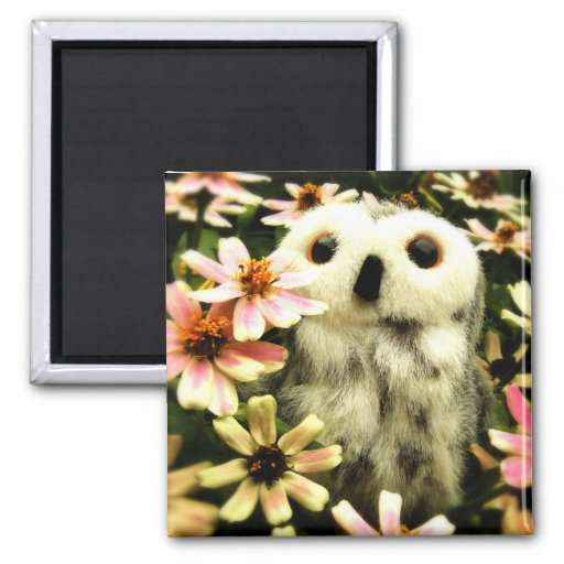 In Search For Fairies 2 Inch Square Magnet