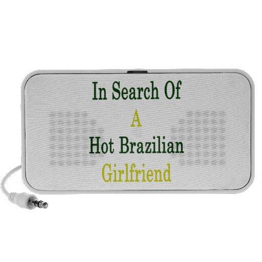 In Search Of A Hot Brazilian Girlfriend Portable Speakers