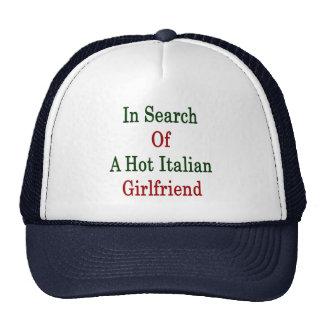 In Search Of A Hot Italian Girlfriend Mesh Hat