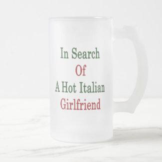 In Search Of A Hot Italian Girlfriend Coffee Mugs