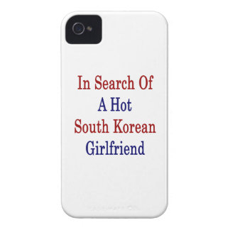 In Search Of A Hot South Korean Girlfriend iPhone 4 Covers