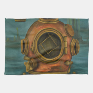 In Search Of Atlantis Kitchen Towels