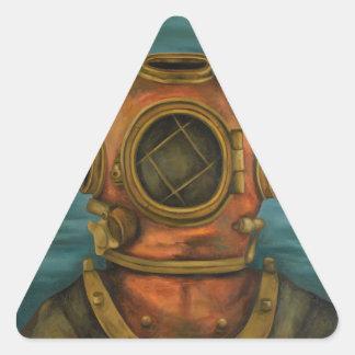 In Search Of Atlantis Triangle Sticker