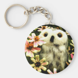 In Search Of Fairies Basic Round Button Keychain