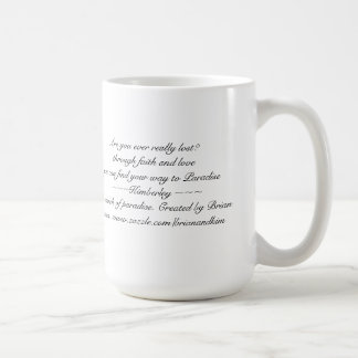 In Search of Paradise - Mug