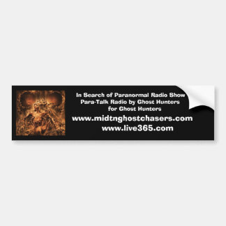 In Search of Paranormal Radio Show, Para-Talk R... Bumper Sticker