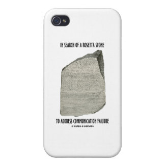 In Search Of Rosetta Stone Address Communication iPhone 4/4S Cover
