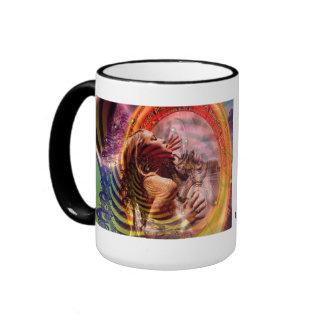 In Search of True Love Ringer Coffee Mug
