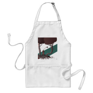 In Searching For Someone To Talk To Adult Apron