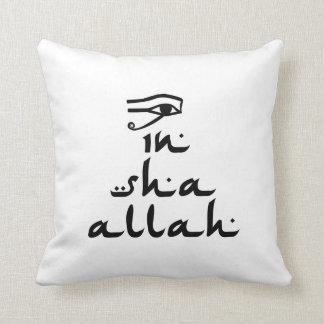 In Sha Allah Throw Pillow