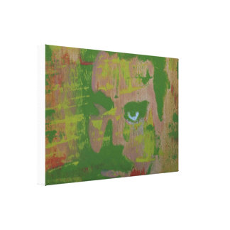 In Shades Of Green Canvas Print