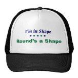 In shape hats