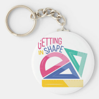 In Shape Keychain