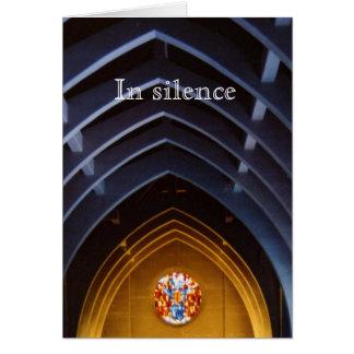 In Silence Card