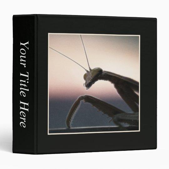 In Silhouette - Praying Mantis Binder