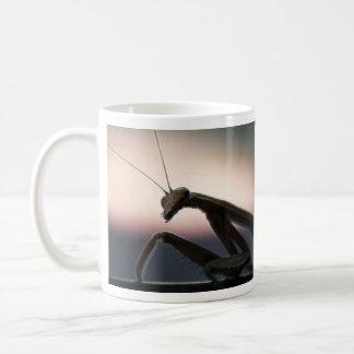 In Silhouette - Praying Mantis Coffee Mug