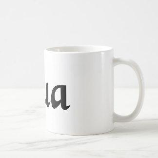 In so far as coffee mug